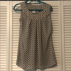 Patterned Cabi tank top
